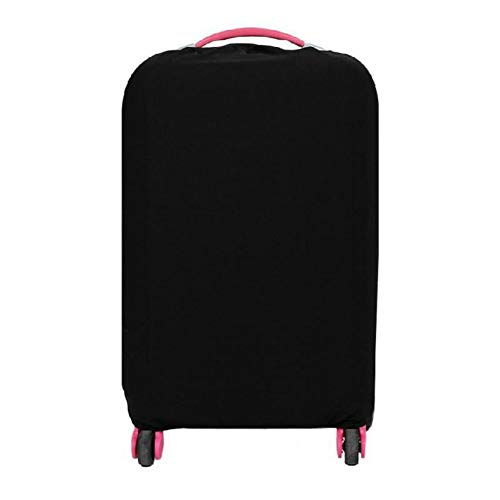 Suitcase Covers Protective Case Travel Luggage Cover Washable Anti-Scratch Fits 28 inch Luggage, Black
