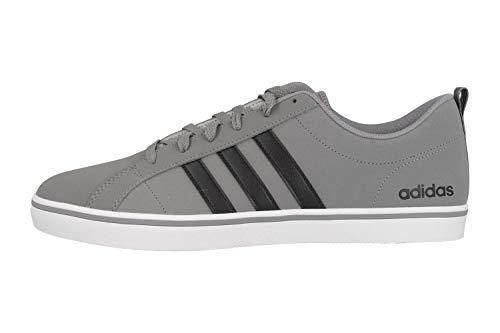 Adidas Vs Pace, Zapatillas para Hombre, Gris (Grey/Core Black/Footwear White 0), 42 EU