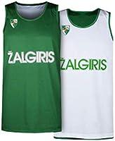 BC Zalgiris Kaunas Reversible Sleeveless Jersey Maglia da basket reversibile. Uomo