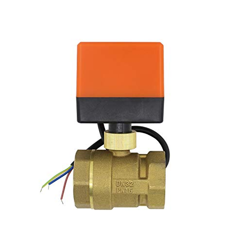 2-Wege-Ventil, motorisiert, Elektromagnet, normalerweise geschlossen, Elektroventil, 220 V, 1/2 3/4 1 1-1/4 1-1/2 Zoll (1-1/4 Zoll DN32)