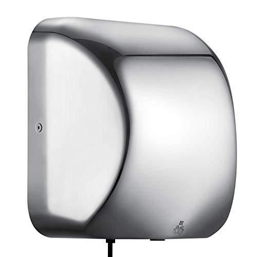 HODOY Asciugamani Elettrico Asciugamani Elettrico Asciugamani Elettrico Professionale Potente Asciugamani Elettrico (1800W)