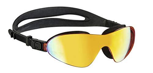 Beco Unisex– Erwachsene FIDJI Wassersportbrille Schwimmbrille, Mehrfarbig, universal