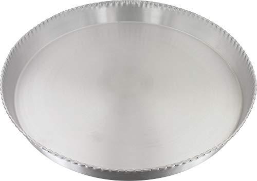 Gobel 625570 Moule Tourtière Ronde Cannelée Fond Fixe Aluminium 36 cm
