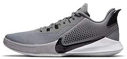 Nike Mamba Fury tênis de basquete, Cinza frio/preto-lobo cinza, 10