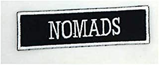Sewingpatch |Australia Nomads Mc 1% Embroidered Applique Sewing Label Punk Biker Patches Clothes Stickers Apparel Accessories Badge | by CUSODI