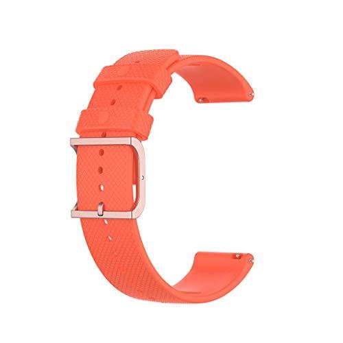 unknows - Pulsera de silicona para Samsung Galaxy Watch3, HuaweiGT2, AmazfitGTR, diseño de puntos