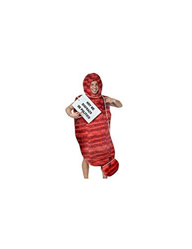 DISBACANAL Disfraz de Chorizo para Hombre - -, XL