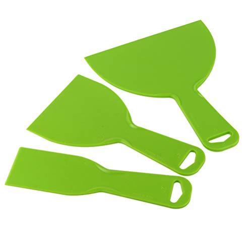 ULTECHNOVO 3D Printer Spatula Resin Removal Vinyl Film Wrap Cleaner Scraper Air Bubble Remover Sticker Installation Tool for 3D Printing Accessories
