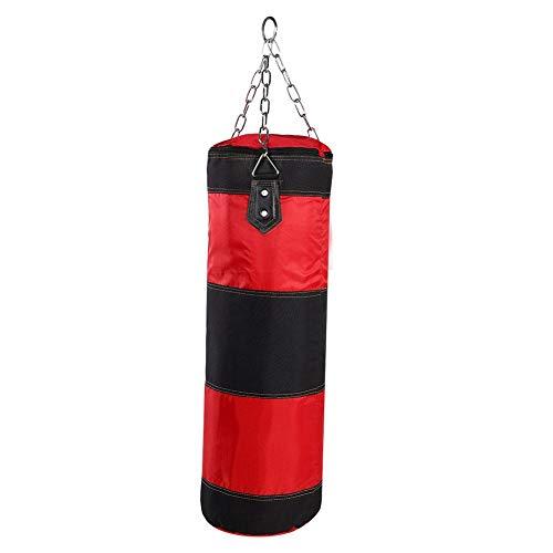 Boxsack, Gefüllte Wandhalterung Boxtraining MMA Schwere Boxhandschuhe Kette Muay Thai Kickboxen - Ungefüllt(1# 80CM)
