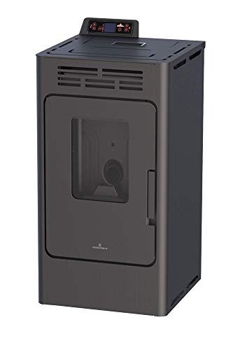 Bronpi – Estufa de pellets 8,1 kW Mod. 'Kira' color negro