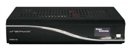 Dreambox 800 HDTV Receiver DVB-S2 PVR schwarz