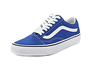 Vans Unisex Old Skool Lapis Blue/True White Sneaker - 6.5