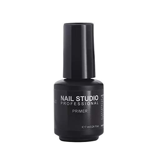 Nail Studio Professional - Primer Acido - Primer Unghie a Base Acida - Migliora Adesione tra Unghia Naturale e Gel, Adatto a Tutti i Sistemi Gel UV e Acrilico, Non Brucia Unghie e Cuticole - 7 ml