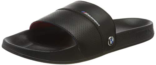 Puma Unisex-Erwachsene BMW MMS Leadcat FTR Zapatos de Playa y Piscina, Schwarz Black Black, 44.5 EU