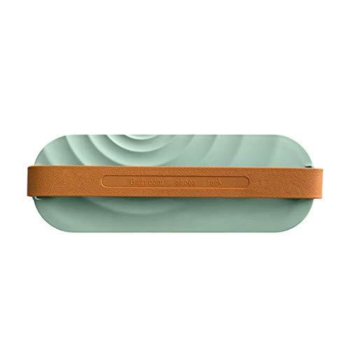 WMYATING Zapatero de almacenamiento simple y práctico, compacto para colgar en la pared del baño, zapatillas, escurridor de zapatos, zapatillas, zapatillas, zapatero (color: 1 unidad)
