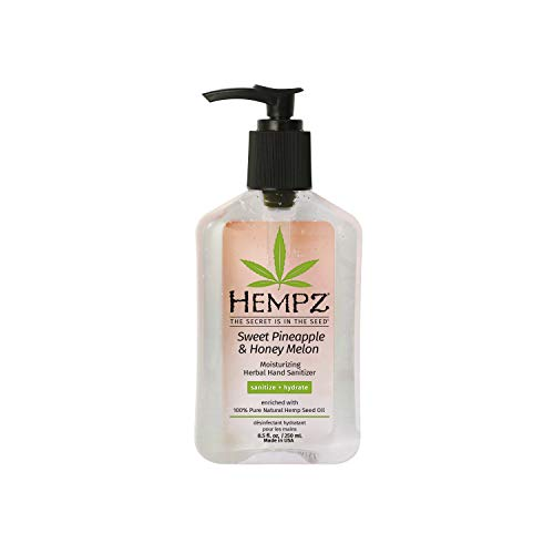 Hempz Sweet Pineapple & Honey Melon Moisturizing Herbal Hand...