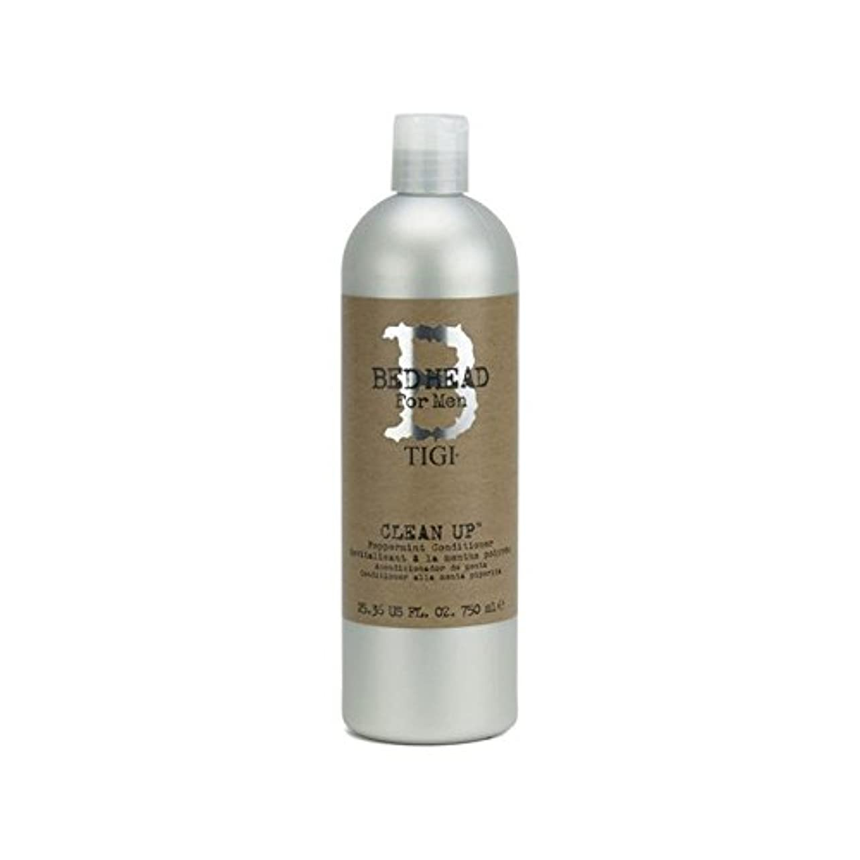 これまでの頭の上してはいけないTigi Bed Head For Men Clean Up Peppermint Conditioner (750ml) - ペパーミントコンディショナーをクリーンアップする男性のためのティジーベッドヘッド(750ミリリットル) [並行輸入品]