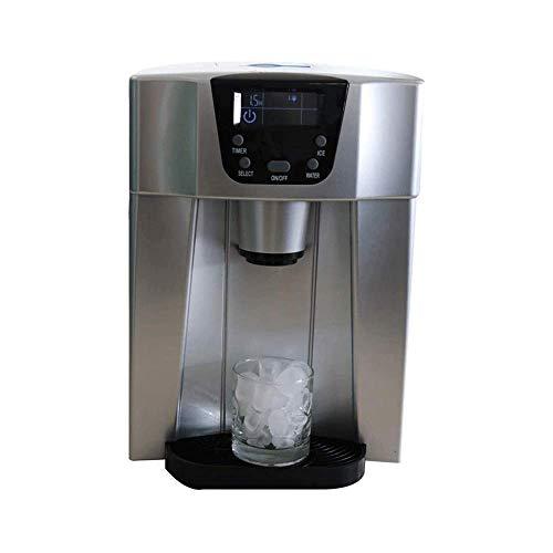 Fabricante de cubos de hielo - 15 kg / 24 h, 2 litros de contenedor de cubitos de hielo, estuche elegante, temporizador, sistema de circulación, cubitos de hielo listos en 6 minutos peng jianyou