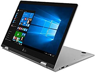 I-Life Zednote Ii Convertible Laptop -Intel Cherry Trial Z8350, 13.3-Inch FHD Touch, 32GB, 2GB, Eng-Arb-Kb, Windows 10, Silver