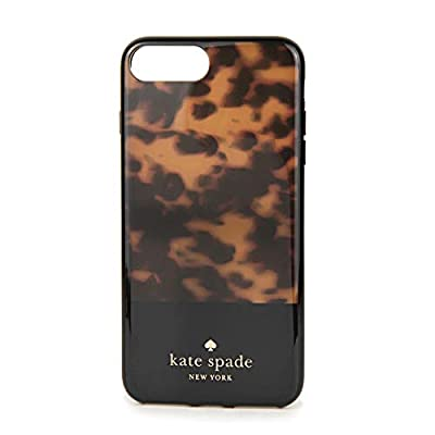 Kate Spade New York Womens Tortoise Shell Phone Case for iPhone 8 Plus
