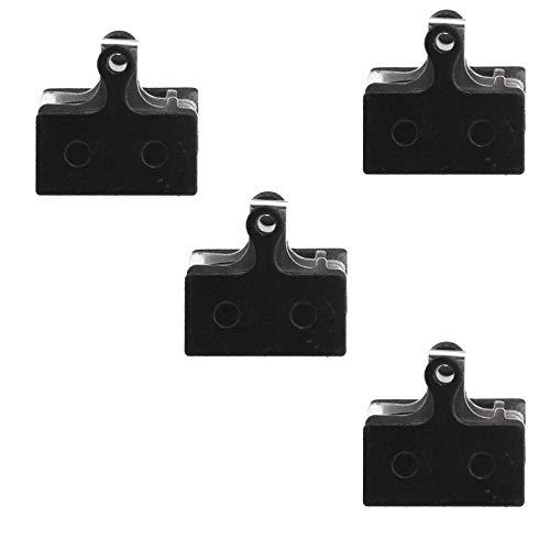 ENET - Pastilla de freno de disco para bicicleta (resina, compatible con Shimano G01A G01S G04T)