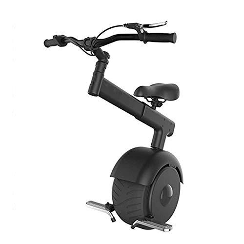GJZhuan 800W Folding Elektro-Scooter, EIN Rad Selbst Balancing Smart-Scooters Motor Elektro-Einrad Bremsanlage 550lbs Ladegewicht Mit 60V-Lithium-Batterie (Size : 25km)