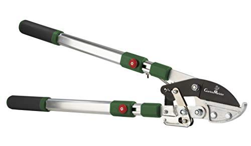 Amboss-Astschere Ratsche mit Teleskopgriff bis max 40 mm