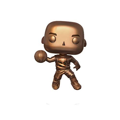 MXXT Pop Figure NBA Figure Michael Jordan CHI Color Plating Chibi PVC Q Version Vinyl 10cm Bobblehead