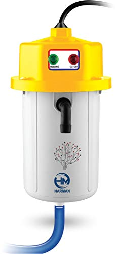 HARMAN INDUSTRIES Instant Portable Water Heater/Geyser for Home || Office || Restaurants || Labs || Clinics || Saloon || Beauty Parlor Free Nozzle and Accessories