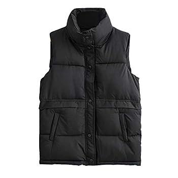 Aniywn Fleece Vest for Women Sleeveless Lightweight Soft Warm Vest with Pockets Button Down Fleece Jacket Outwear Black