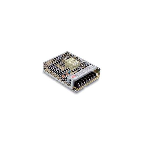 MEANWELL DRI.6294 Transformateur 24VDC IP 20 100W-Déco LRS-100-24, Plastique,et Autre materiaux, 100 W, Blanc, Hauteur x Largeur x Profondeur : 30 mm x 97 mm x 132 mm