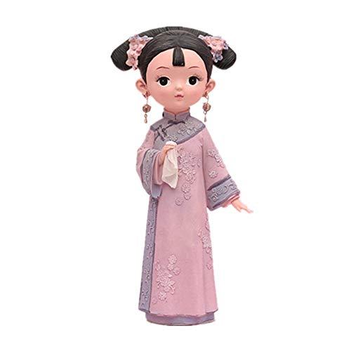 Prinses pop, Doos Verpakking, Gypsophila gedroogde bloem decoratie, Chinese prinses, Meisje Of Paar Thuis Decor Valentijn Es Dag Kerstmis Verjaardagscadeau