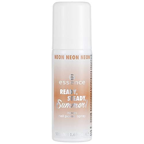 ESSENCE Ready, Steady, Summer. Neon Nail Polish SPRAY N. 02No Pain, No Gain Contenuto: 50ML Smalto Spray per Super facile Manicure