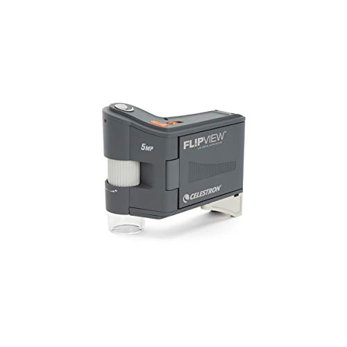 Celestron FlipView Handheld LCD Portable Microscope