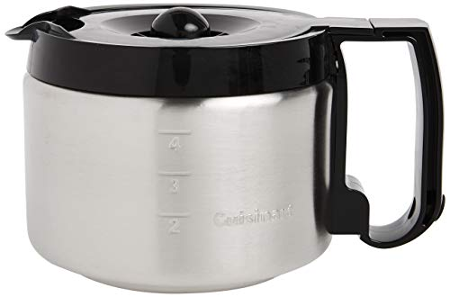 Cuisinart 4-Cup Replacement Carafe, Black