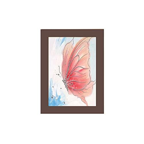 KAIHUI Marco De Fotos Rectangular/Marco De Fotos Tridimensional/Marco De Fotos Engrosado/Marco De Espejo Decorativo De Salón/Plexiglás/Pared De Exposición A3(29.7x42cm)