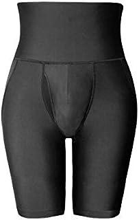 Men's Body Shaper High Waist Abdomen Tummy Control Trimmer Shaping Underwear Boxer Briefs Shapewear Shorts