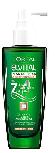L'Oréal Paris Elvital Planta Clear Anti-Schuppen Intensiv-Kur, 6er Pack (6 x 100 ml)