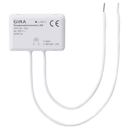 Gira 237500 Kompensationsmodul LED 230V weiß AC