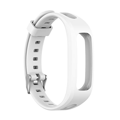 DAAGFC Correa de Pulsera de Silicona Deportiva Ajustable para Huawei Band 4e 3e Honor Band 4 Reloj de reemplazo de reemplazo Pulsera de la Banda de la Banda Suave (Band Color : White)