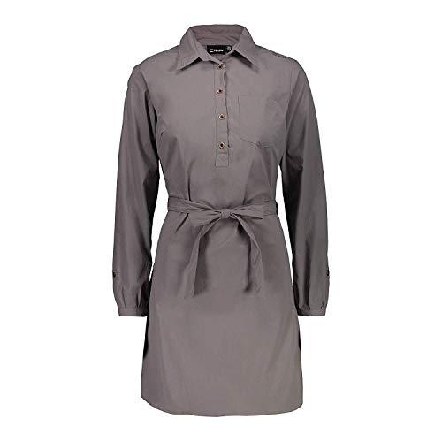 CMP jurk blouses jurk Woman Dress bruin waterafstotend ademend elastisch
