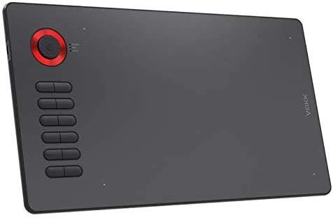 VEIKK Tableta gráfica digital A15PRO 10 × 6 pulgadas con sensibilidad a la presión del bolígrafo 8192