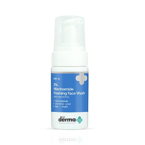 The Derma Co 3% Niacinamide Foaming Face Wash for Acne Marks – 100 ml(dermaco)