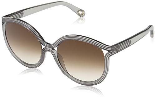 CHLOÉ CE738S Sonnenbrille CE738S Chloe Rund Sonnenbrille 57, Grau