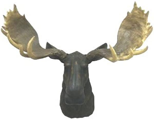 MOOSE HEAD WALL MOUNT DECOR