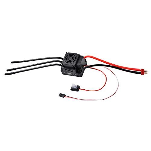 sharprepublic Controlador De Velocidad Eléctrico 1: 8 Brushless 80A ESC para Reemplazo...