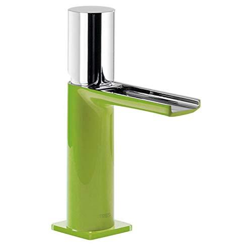 LOFT-COLORS Monomando lavabo con caño cascada libre. NOTA: La grifería con caño cascada se acompaña con 2 llaves de regulación con filtro (Ref: 91.34.525).