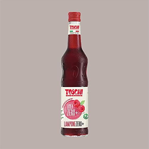 Lucgel Srl 740 gr Sciroppo LAMPONE ZERO+ Calorie Senza Zucchero TOSCHI per Gelato Granita Cocktail