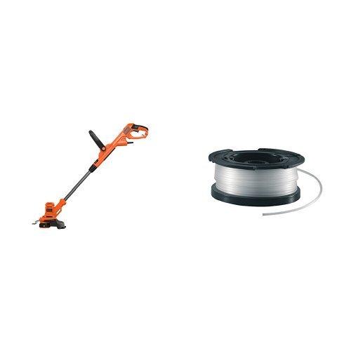 BLACK+DECKER BESTA525-QS Tagliabordi a Filo AFS, 450 W, 25 cm + A6481 Rocchetto Filo Nylon