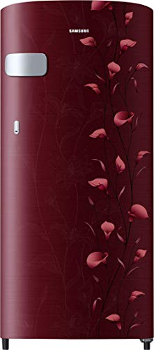 Samsung 192 L 2 Star ( 2019 ) Direct Cool Single Door Refrigerator(RR19N1Y12RZ/HL / RR19R2Y12RZ/NL, Tender Lily Red)